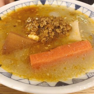 キーマカレー豚汁定食