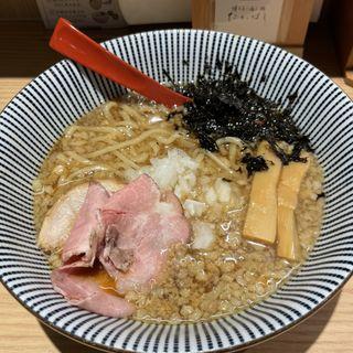 背脂醤油らー麺