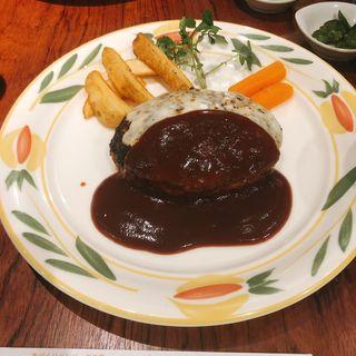 チーズハンバーグ 300g(とくら (桂本店))
