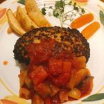 野菜ゴロゴロトマトソースハンバーグ(300g)(とくら (桂本店))