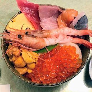 ウニ・イクラ・海鮮丼(鮨國 )