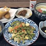沖縄定番ゴーヤチャンプル定食