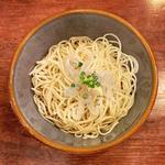 限定 生白魚ペペロンチーノ合え麺