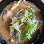 野菜ラーメン 醤油