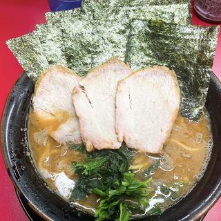 チャーシュー麺  海苔トッピング(王道家)