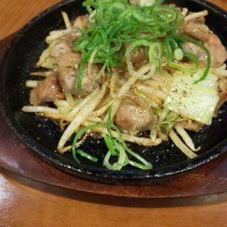 砂肝焼き ガーリック醤油