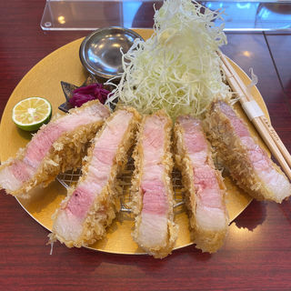 淡路島ゴールデンボアポークロースカツ定食(epais 関目高殿店)