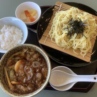 中華風牛つけ麺