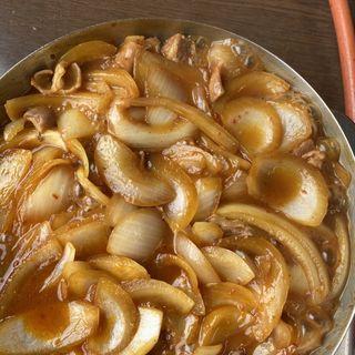 豚のモツ鍋