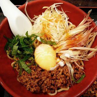 汁なし坦々麺(麺厨房 華燕 (【旧店名】 中国料理 華燕))