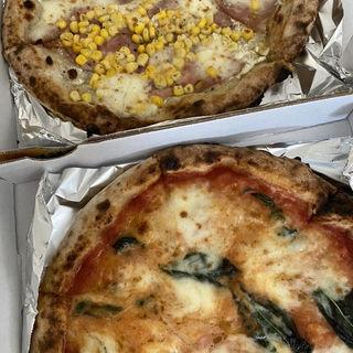 コーンとチーズのピザ(Pizzeria da Torachici (ピッツェリア ダ トラキチ))