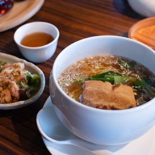 スープ麺セット(中国食彩館 龍の髭 )