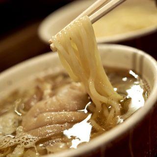 つけそば大盛り300g+豚足(麺屋 えぐち )