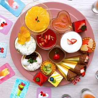どこから見てもインスタ映えの「デザート&ランチブッフェ」(ANAクラウンプラザホテル大阪)