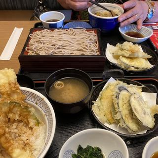 天丼と蕎麦(夢庵松戸和名ヶ谷店 )