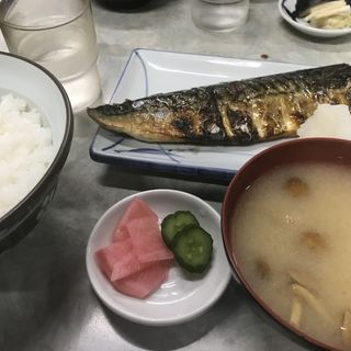 さば文化干定食(伊勢屋食堂 )