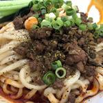 汁なし担々麺(醤油)
