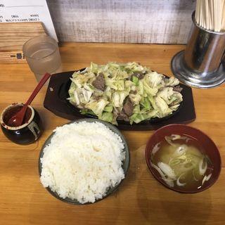 焼肉1.5人前+ご飯特盛(大黒ちゃん (ダイコクチャン))