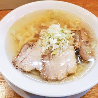 会津山塩ラーメン(うえんで)