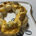 ポン・デ・ちぎりパン  キーマカレー&チーズ