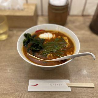 カレー辛麺(辛麺屋一輪)