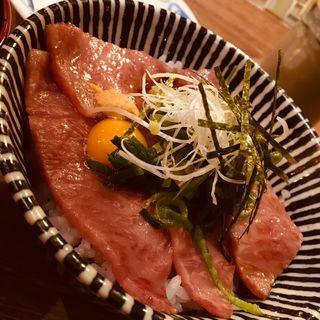 近江牛大トロのうっしっし丼