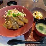 鰹ハリハリ野菜丼