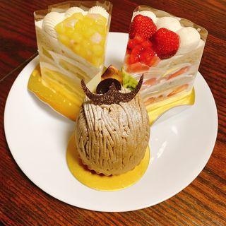 スーパーショートケーキ(ホテルニューオータニ幕張 ザ・ラウンジ )