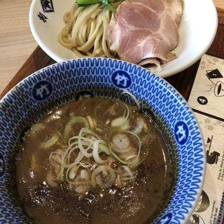 特製濃厚鶏豚骨つけ麺(別邸 たけ井 なんばラーメン一座)