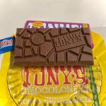 Tony′s Chocolonely /ミルクチョコレート32% アーモンドハニーヌガー