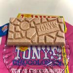 Tony′s Chocolonely /ホワイトチョコレート ラズベリー ポッピングキャンディ