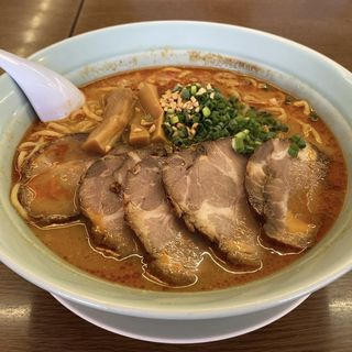 ちゃーしゅー坦々麺+大盛