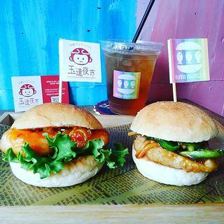 エビチリ&青椒魚絲(チンジャオトト)2個入りセット