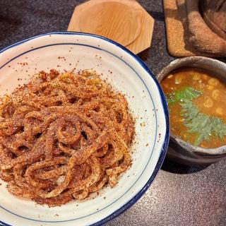 つけ麺全粒粉(烈志笑魚油 麺香房 三く)