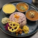 カレー3種(Curry Spice Gelateria KALPASI (カリースパイスジェラテリアカルパシ))
