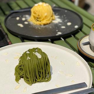 珈琲屋の抹茶モンブラン
