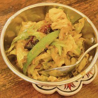 春キャベツのサブジ(印度料理シタール )