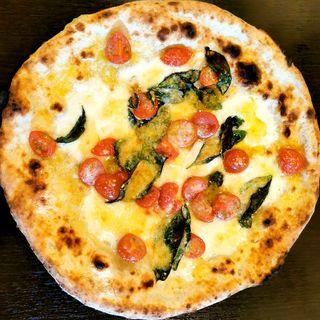 マルゲリータDOC(ナポリピッツァ Pizzeria la Rossa (ナポリピッツァ ピッツェリア ラ ロッサ))