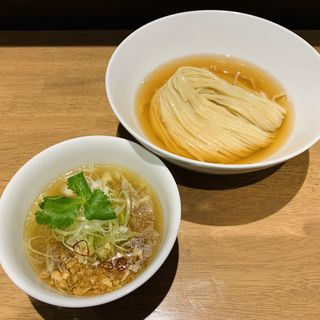 鰹昆布水つけ麺(しお)(らぁ麺や嶋)