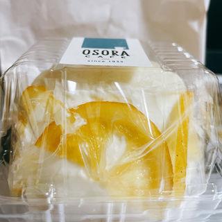 レアチーズ風味 レモンのレアトォツォ(オソラカフェ)