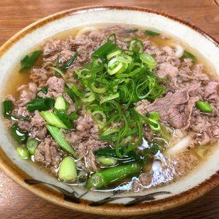 肉うどん(千とせ 本店 (ちとせ))