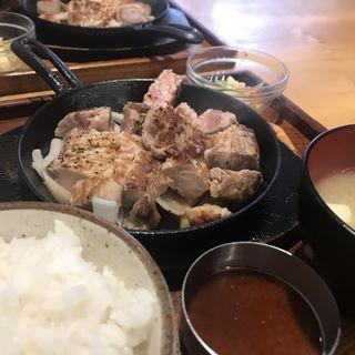 豚ステーキランチ(豚ステーキランチ 十一 といち)