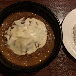 溶岩焼き カレーチーズハンバーグ(Roti (ロティ))