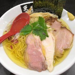 鶏白醤油麺