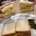 チーズオムレツサンド(セントル ザ・ベーカリー)