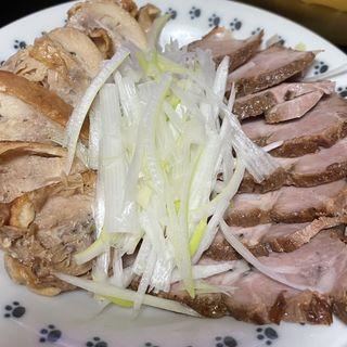 鶏チャーシュー&豚チャーシュー