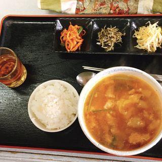 プゴクッパ定食(韓国家庭料理 ソウル家 (ソウルヤ))