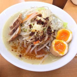 鶏ぶた辛タンメン(富白 )