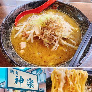 チーズカレー味噌らーめん(神楽 (カグラ))