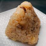 いぶりがっこチーズ玄米